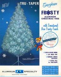 Largest Public Exhibition of  Evergleam Aluminum Christmas Trees      Top Selling Wisconsin-Made Novelty Stirs Seasonal Nostalgia