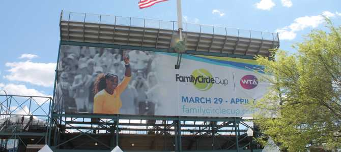 Gallagher's Travels To Cover 2014 Family Circle Cup in Charleston, SC     March 29-April 6