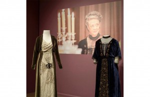 Maggie Smith gowns