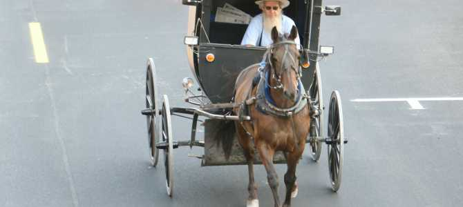 The Amish in Delaware?  Bikers know !