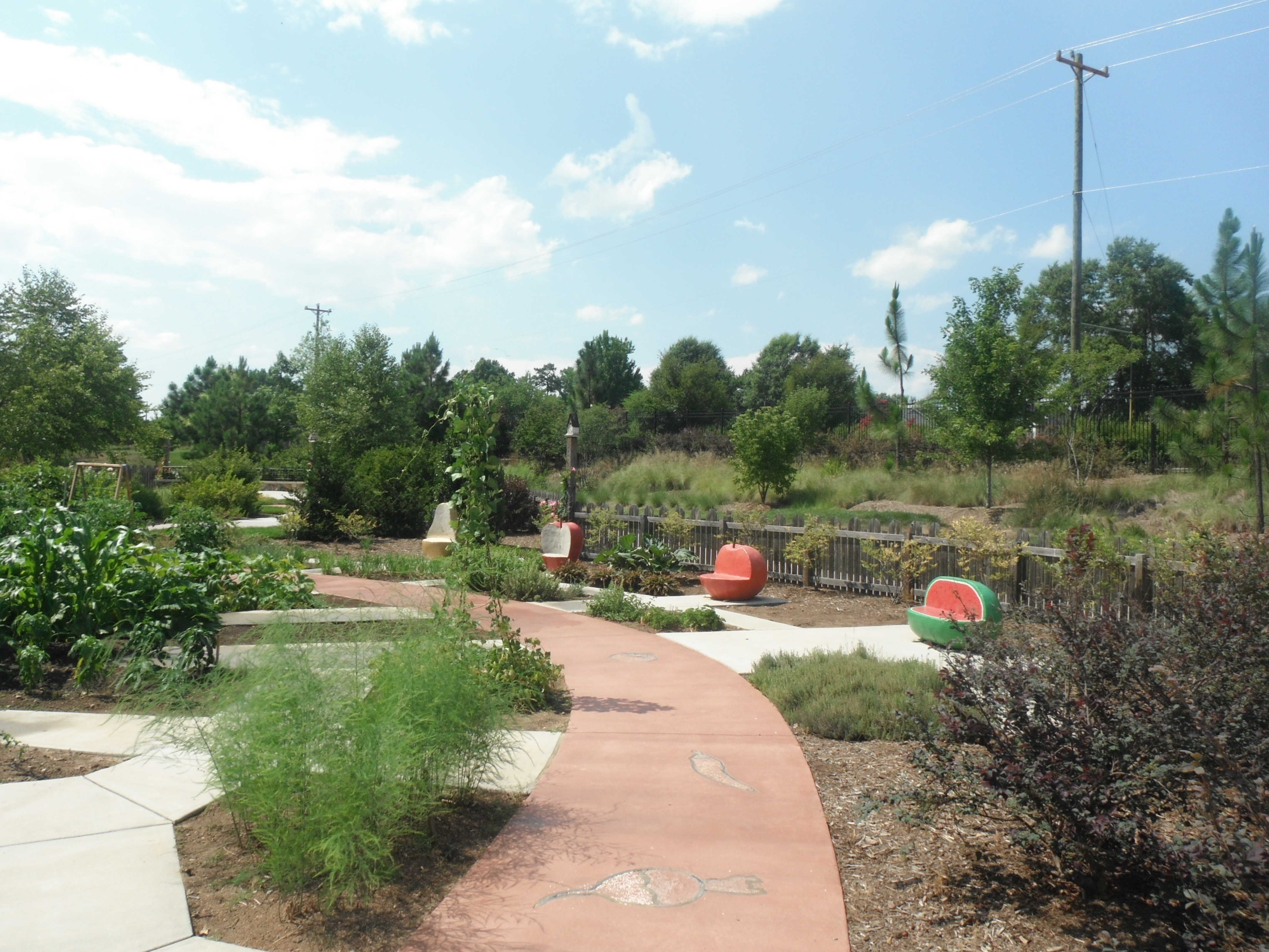 The new green to the gateway city greensboro north for Garden gateway
