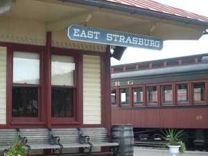 The East Strasburg Railroad Station