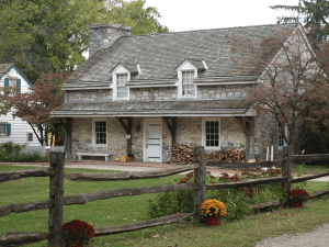 One of many historic buildings in Lancaster