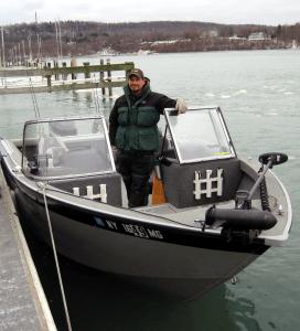Captain/guide Matt Yablonsky.