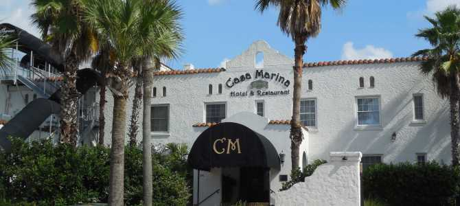 Jacksonville Beach's Casa Marina Hotel: Old Florida charm.