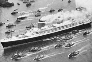SS United States Maiden Voyage