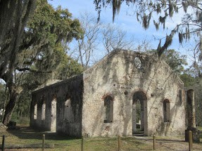 Chapel of Ease St. Helena Island Beaufort SC