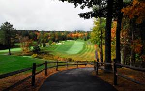 Golf at Woodland Springs in the Poconos.