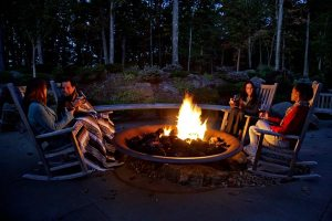 Enjoy quiet times with friends at Woodloch Resort in the Poconos.