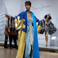 Hana Mori design at the Textile Museum.