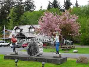Forks Logging Museum.