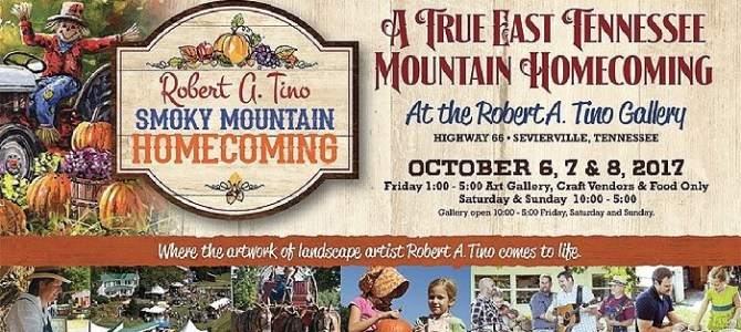 Tennessee Mountain Homecoming Oct 6, 7, 8 2017