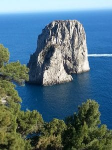 the Isle of Capri, Italy