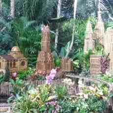 New York Botanical Garden's Holiday Train Show – a popular holiday tradition
