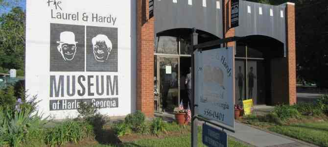 Laughs at the Laurel and Hardy Museum