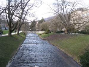 We drive along the River Oos via the Lichtentaler Allee on our visit to Baden-Baden.
