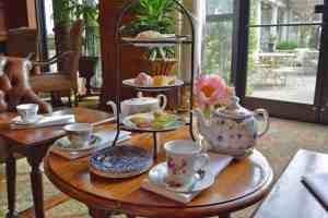 Elegant afternoon tea at the O Henry in Greensboro.