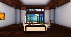 Anini Mesh Hawaiian Home Living Room