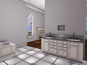 Mesh Master Suite Bathroom Second Life