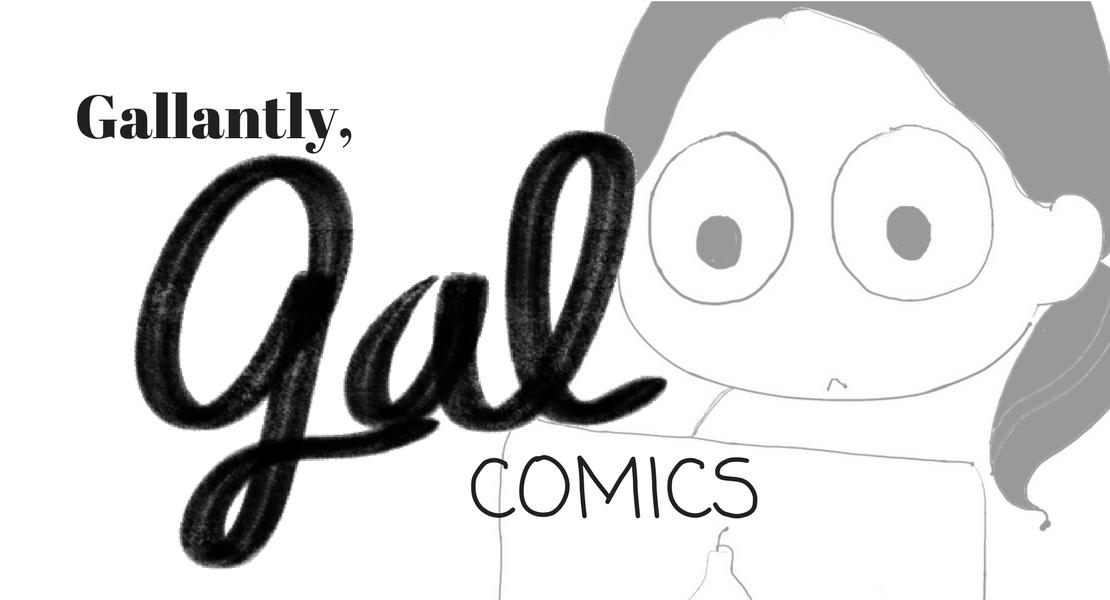 gallantly gal comics