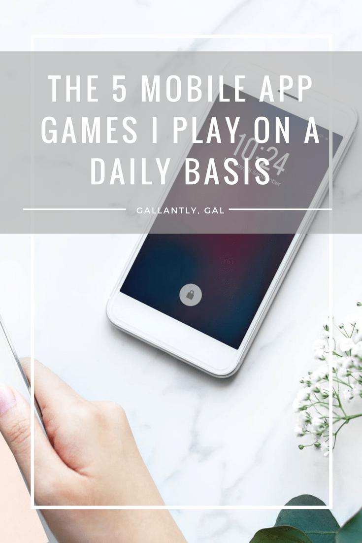 The 5 mobile app games I play on a daily basis