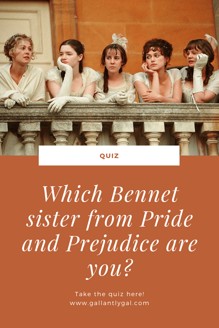 Which Bennet sister from Pride and Prejudice are you?