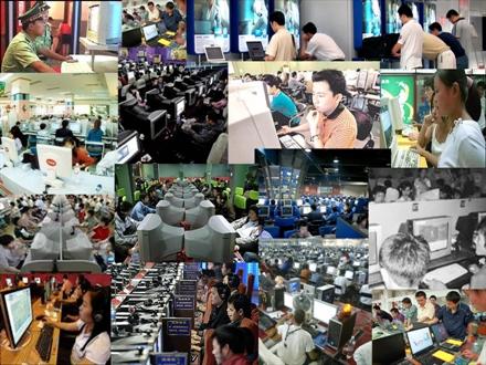China 300 millones de Internautas