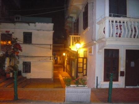 carrer del poble de Taipa