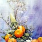 dekoration med appelsiner