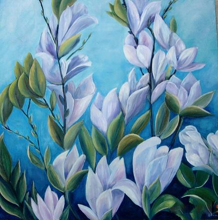 Grene fra Tulipantræ str. 50x50