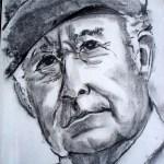 mand med hat