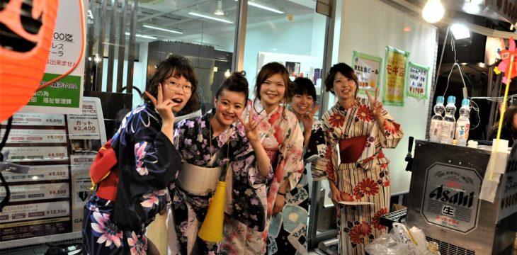 納涼盆踊り大会(出店の宣伝)