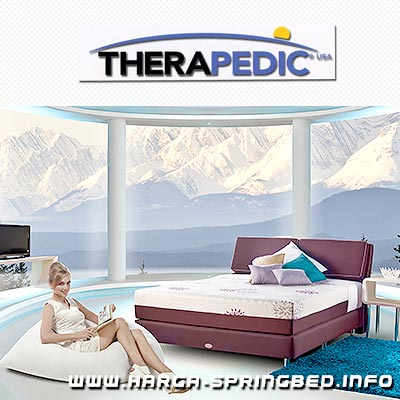 kasur spring bed Therapedic Aspen