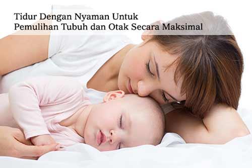 tips dan manfaat tidur