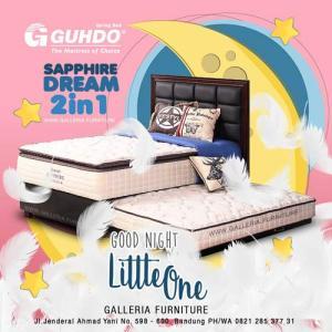 Jual Springbed Anak 2in1 Guhdo Sapphire