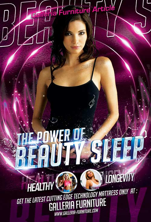The Power of Beauty Sleep