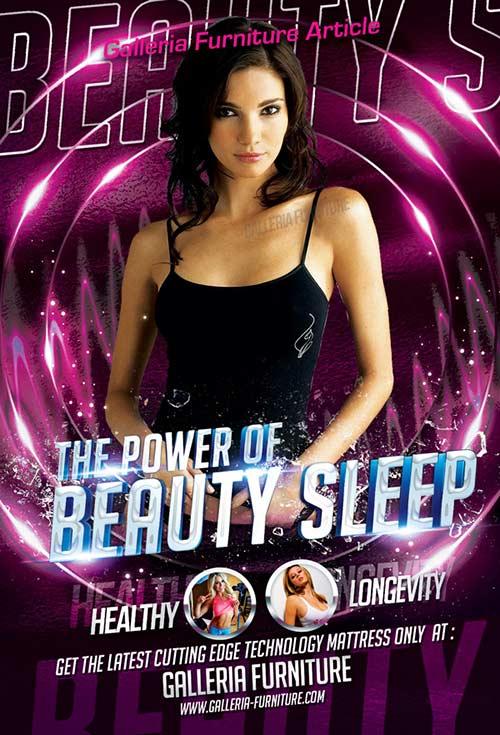 The Power of Beauty Sleep