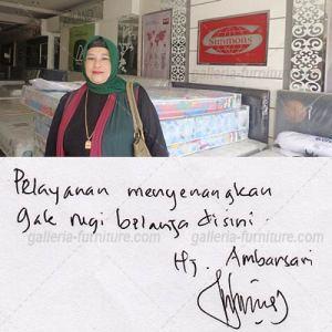 Toko Harga Matras Murah Bandung - Testimoni Ibu Ambarsari