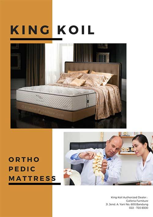 Kasur Orthopedic Bagus King Koil