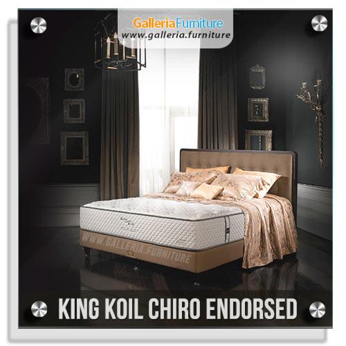 Harga Spring Bed King Koil Chiro Endorsed