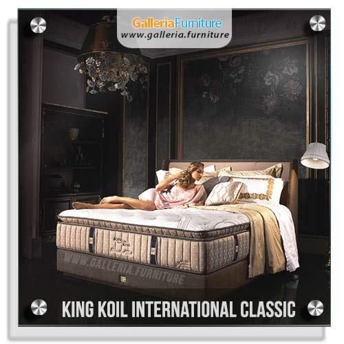 Spring Bed King Koil International Classic Harga