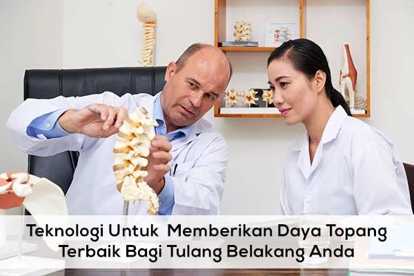 Teknologi terbaik untuk menopang tulang belakang