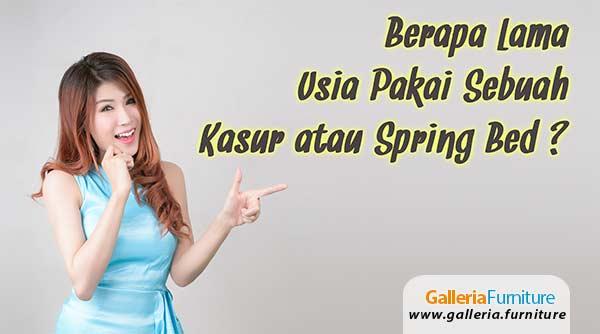 Usia-Pakai-Kasur-Springbed