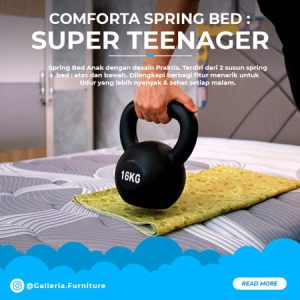 Springbed-Comforta-Super-Teenager-Review-Kasur