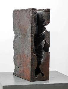 Giuseppe Spagnulo, Libro, 2002, acciaio forgiato, cm 37x24x11h