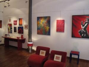 "Galleria Consadori, Mostra ""Rosso"""
