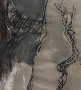 Nanni Valentini, Momento, 1985, Tecnica mista su carta, cm 100x70