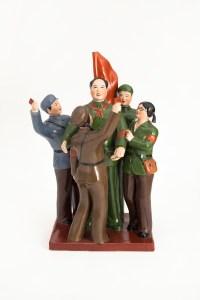 Piazza Tian An Men, Agosto 1966, Porcellana cinese