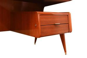 Guglielmo Ulrich, scrivania teak, anni '50
