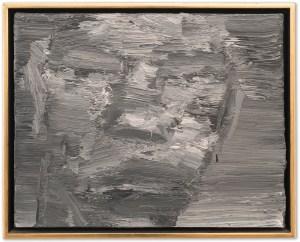 Yan Pei-Ming, Victim #009, 2001, cm 40x50,2, oil on canvas